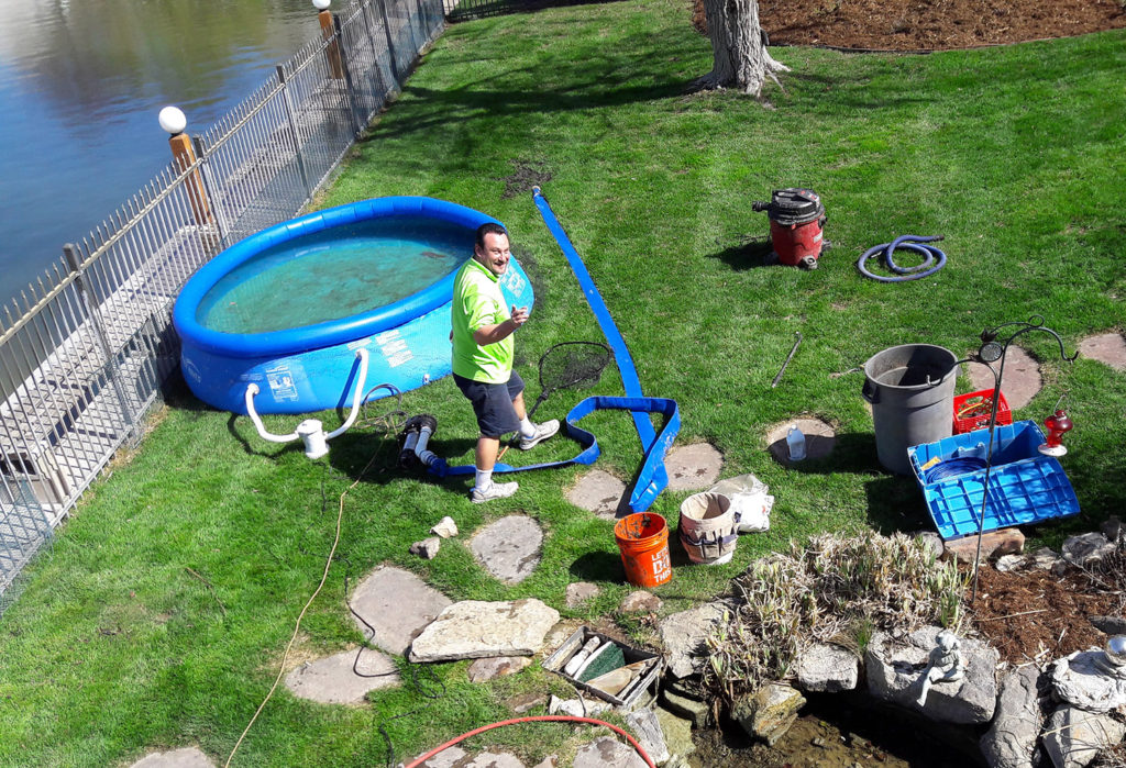 Pond Koi Fountain & Watergarden Buiding Cleaning Maintenance Repair
