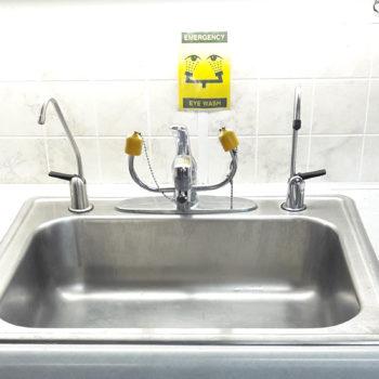 dental office water purifier spigot